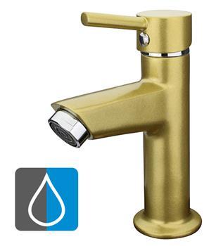kaltwasserarmatur standventil wasserhahn waschtisch g ste wc gold metallic ebay. Black Bedroom Furniture Sets. Home Design Ideas